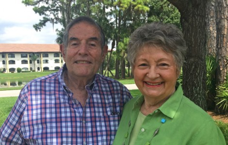 Residents Dick and Jean Georgiades' are Enjoying Their Semi-Retired Lifestyle at The Fountains