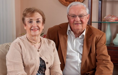 Residents Terry and Kay Day are Enjoying Their Worry-Free Lifestyle at The Fountains