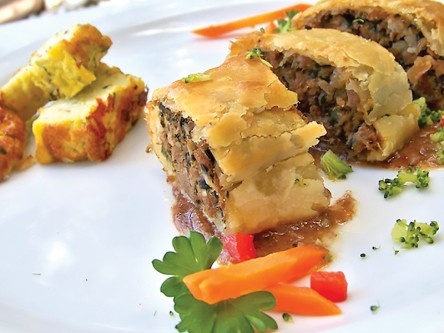 Thrive Dining - Beef Brisket Pastry