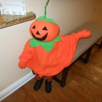 Our Greeter - Mr. Pumpkin Head