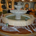 Fountain of webs