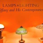 Collection of Tiffany Lamps at the Morse Museum.