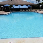 Our newly renovated pool.