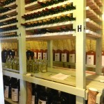 The wine cave, where the wine is created.