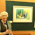 Lyn Jacobson with her first featured piece of the month.