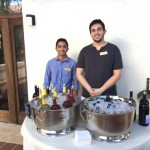 Our bartenders for the afternoon.