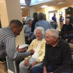 Fellowship with residents.