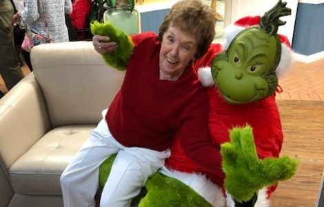 Grinch Family Christmas Party
