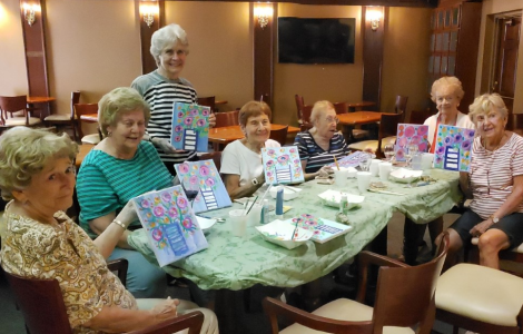 Creativity Is In Bloom At The Fountains At Lake Pointe Woods